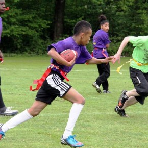 OSB Ravens (Junior Varsity) 2e op NK Flag Football in Amsterdam