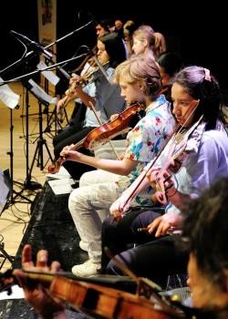 2013 leerorkest concert - violisten1a