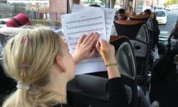 2013 leerorkest Pippa in bus1a
