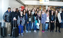 2014 Comeniusproject op Schiphol1