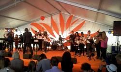 2014 OSB leerorkest op Uitmarkt1a