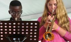 2014 OSB leerorkest op Uitmarkt3a
