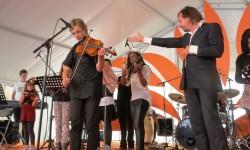 2014 OSB leerorkest op Uitmarkt4a
