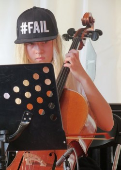2014 OSB leerorkest op Uitmarkt6a
