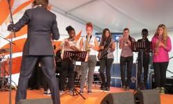 2014 OSB leerorkest op Uitmarkt7a