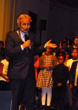 2014 kunstklassen treden op voor burgemeester2a