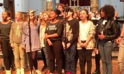 2014 kunstklassen treden op voor burgemeester4a