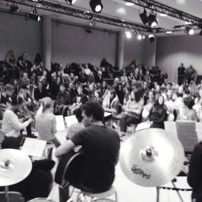 OSB Leerorkest ZO bereidt Europa een warm welkom