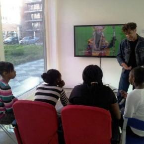 Leerlingen uit leerjaar 1 op bezoek bij het Centrum voor Beeldende Kunst ZO