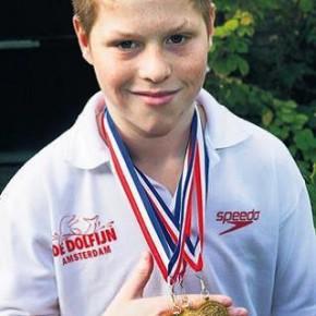 Dylan Vork 3fc, Nederlands jeugdkampioen schoonspringen