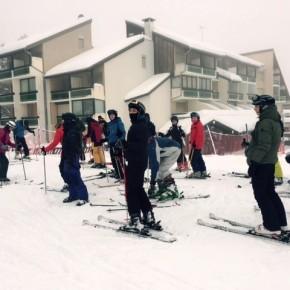 3de jaars sportklas op werkweek in de Franse Alpen!