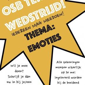 Doe mee met de eerste tekenwedstrijd van OSB!