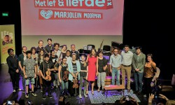 2017 OSB leerorkest groepsfoto met Marjoleine1a
