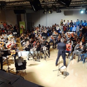 Alle tweedeklassers in concert!