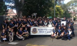 2019 Burwood Girls High School Band picture1