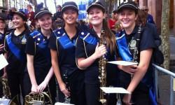 2019 Burwood Girls high School Band uniform1a
